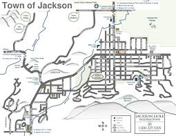 Map Of Montana Cities And Towns by Jackson Hole Area Maps