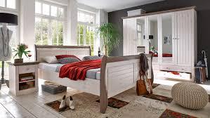 Schlafzimmer Kiefer Einrichten Monaco Kiefer Massiv White Wash Stone