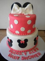 baby minnie mouse baby shower minnie mouse baby shower cake cakecentral