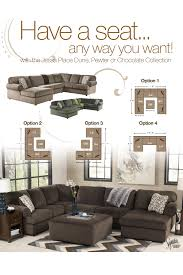 Wayside Furniture Akron Oh by Signature Design By Ashley Jessa Place Chocolate Casual