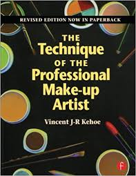 professional makeup books the technique of the professional make up artist vincent kehoe