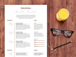 Graphic Resume Templates 40 Free Creative Resume Templates For Job Seekers
