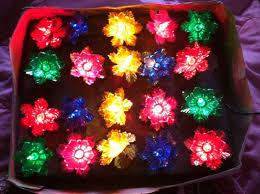 christmas tree flower lights 10 best vintage plastic flower lights images on pinterest diy