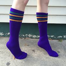 mardi gras socks mardi gras striped knee high socks cus connection