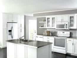 off white kitchen cabinets with stainless appliances white cabinets with white appliances white appliances with gray blue