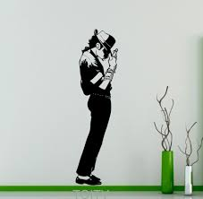 popular jackson wall buy cheap jackson wall lots from china michael jackson wall sticker king of pop star vinyl decal art decor music home interior room