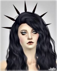 spiked headband sims new mesh accessory spiked headband sims 4 downloads