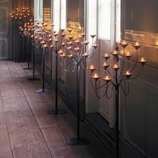 wrought iron floor standing candle holders ourcozycatcottage