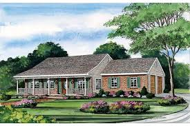 collections of ranch house plans with porch free home designs