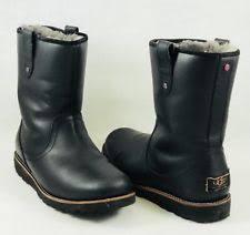 ugg s stoneman boots sale ugg australia s winter leather medium d m boots ebay