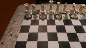 Chess Table by Chess Table Polished Heblad
