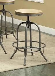 rustic industrial bar stools rec room bar tables rustic industrial adjustable bar stool