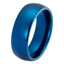 mens blue wedding bands mens blue wedding band tungsten wedding rings tungstenweddingbands