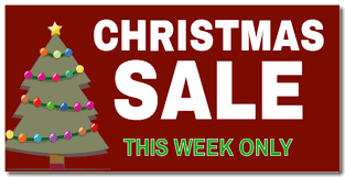 christmas sale christmas sale advertising banner design and buy at signeagle