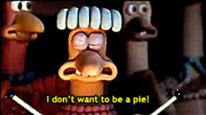 Chicken Running Meme - chicken run pie gif find share on giphy