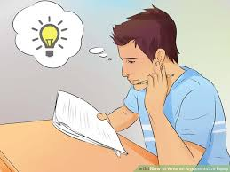 How to Write an Argumentative Essay  with Pictures    wikiHow