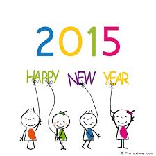 happy new year 2015 kid u0027s drawing u2022 elsoar