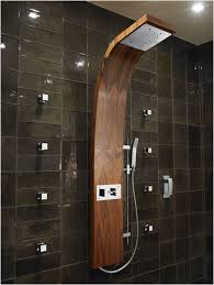 Rain Shower Bathroom by Bathroom Rain Shower Ideas Small Glass Sliding Doors Beige Tile