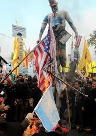 American Flag Burning American Flags Burn As Thousands Protest At Former U S Embassy In