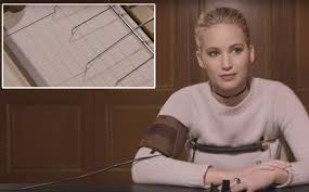 The Lie Detector Determined That Was A Lie Meme - jennifer lawrence took a lie detector test and it got intense