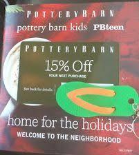Pottery Barn 15 Pottery Barn Coupons Ebay