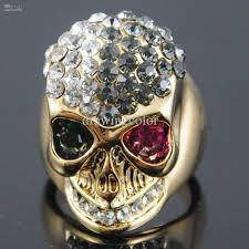 gold skull rings images 18k gold skull ring new style punk alloy jewelry colorful crystal jpg