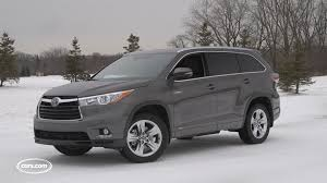 toyota highlander 2016 interior 2016 toyota highlander hybrid youtube