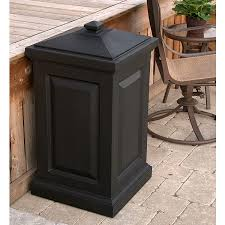 Backyard Storage Containers Amazon Com Mayne 4835 B Berkshire Storage Bin Black Home