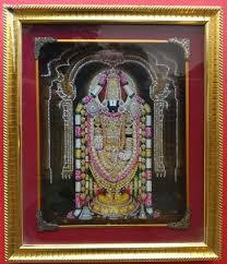 lord venkateswara photo frames with lights and music lord balaji music frame gdf1011 pooja pathri