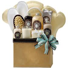 beauty gift baskets bath spa basket spa lass
