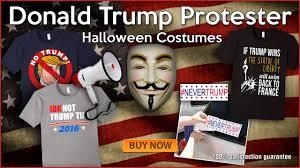 trump halloween costume donald trump protester halloween costumes