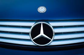 2003 cl mercedes ornament and emblem photograph by reger
