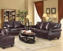 Coaster Leather Sofa Briscoe Sofa Set 504702 Coa Instock Furniture