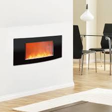 cambridge callisto 35 in wall mount electronic fireplace with