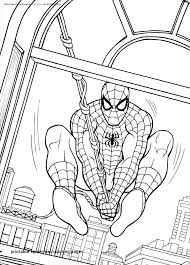 printable coloring pages spiderman spiderman color sheets amazing 42 best super hero coloring pages