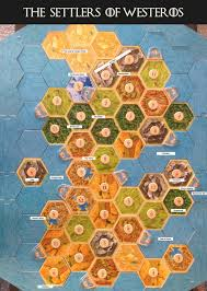 Settlers Of Catan Meme - the settlers of westeros catan meets game of thrones a board