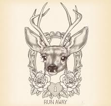 small deer tattoo designs tattoo collection