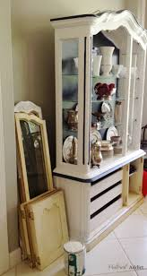 painted china cabinet pinterest addict