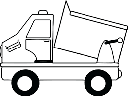 articles with garbage truck coloring pages tag dump truck