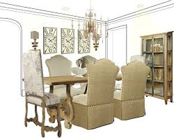 DINING IN CASUAL ELEGANCE FRENCH COUNTRY STYLE DINING ROOM - French country dining room