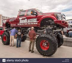 customized truck customized ford f 350 super duty lariat truck at sema stock photo