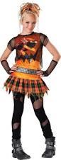 Wwe Halloween Costumes Adults Tween Teen Girls Punk Rock Pumpkin Fancy Dress Halloween Costume