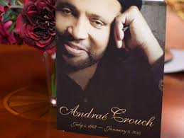 michael jackson funeral program andrae crouch funeral services attended by gospel greats news one