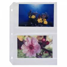 4x6 photo pages for 3 ring binder 35mm ring binder photo storage pages 50 bx 52564 c line products