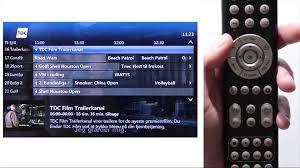 tv guide til tdc tv boksen youtube