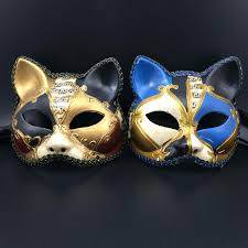 masquerade party masks luxury cat mask lace venetian masquerade party mask half