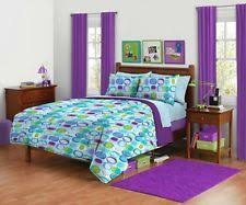 Bedding Sets Full For Girls by Aqua Bedding For Teens Your Zone Reversible Comforter And Sham
