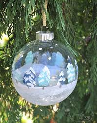 decoart crafts painted winter ornaments
