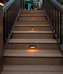 deck u0026 rail lighting led deck lights timbertech