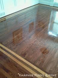 hardwood floor installation with borders i like the border but